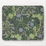 Diseño del papel pintado de la alga marina, impres alfombrilla de ratones