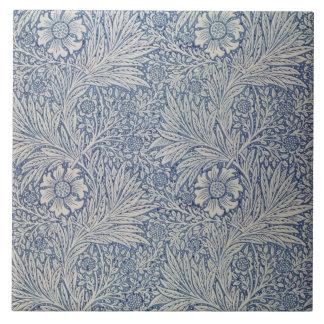 """Diseño del papel pintado de la """"maravilla"""", 1875 azulejo cuadrado grande"""
