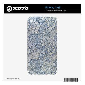 """Diseño del papel pintado de la """"maravilla"""", 1875 iPhone 4S calcomanías"""