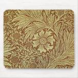 Diseño del papel pintado de William Morris de la m Mousepad