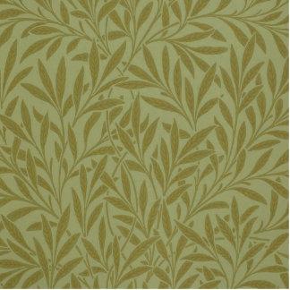 Diseño del papel pintado de William Morris del sau Fotoescultura Vertical