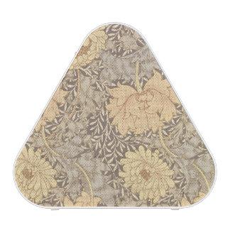 """Diseño del papel pintado del """"crisantemo"""", 1876 altavoz"""