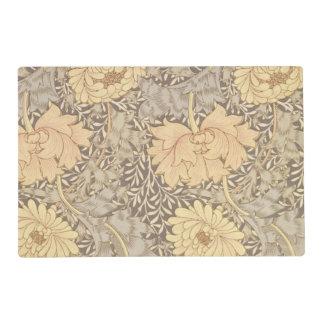 """Diseño del papel pintado del """"crisantemo"""", 1876 salvamanteles"""