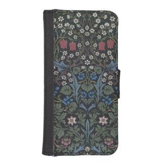 """Diseño del papel pintado del """"endrino"""", 1892 funda billetera para teléfono"""