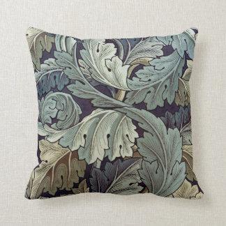Diseño del papel pintado floral del Acanthus de Wi Cojín
