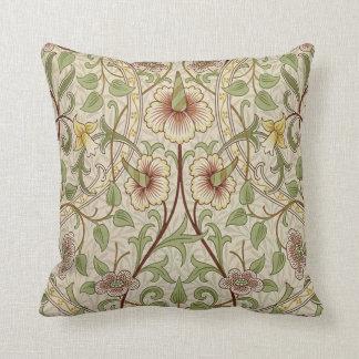 Diseño del papel pintado floral del vintage - narc cojín