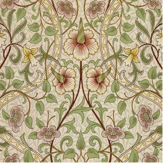 Diseño del papel pintado floral del vintage - narc imán fotoescultura