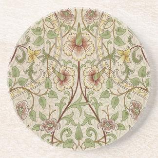 Diseño del papel pintado floral del vintage - narc posavasos diseño