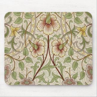 Diseño del papel pintado floral del vintage - narc tapetes de raton