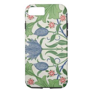 Diseño del papel pintado floral funda iPhone 7