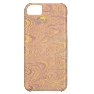 Diseño del papel veteado funda para iPhone 5C