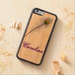 diseño del pavo real del caso del iPhone 5 de la
