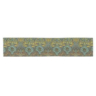 Diseño del pavo real y de la tapicería de William Camino De Mesa Corto
