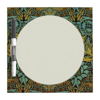 Diseño del pavo real y de la tapicería de William Pizarras Blancas De Calidad