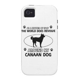 Diseño del perro de Canna Vibe iPhone 4 Carcasas