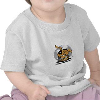 Diseño del perro de Halloween Camiseta
