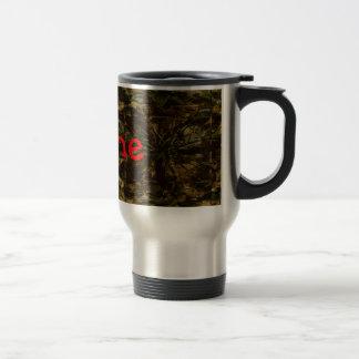 Diseño del pétalo del amante de Camo Taza De Café