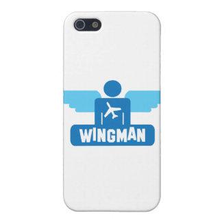 diseño del piloto del wingman iPhone 5 funda