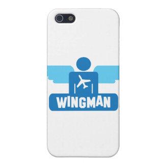 diseño del piloto del wingman iPhone 5 fundas