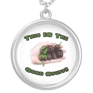 Diseño del pimiento picante del habanero del choco colgante redondo