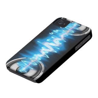 diseño del poder de la música iPhone 4 cárcasa