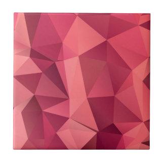Diseño del polígono azulejo cuadrado pequeño