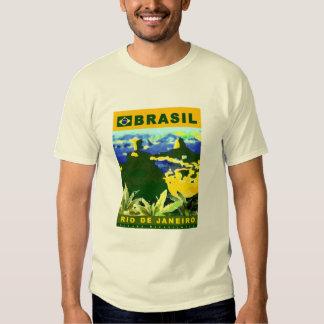 Diseño del poster del Brasil Playera