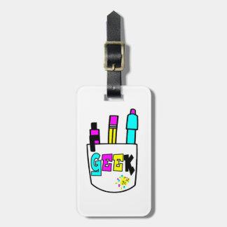 diseño del protector del bolsillo del cmyk del fri etiquetas de maletas