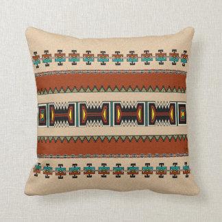 Diseño del pueblo de New México Cojín