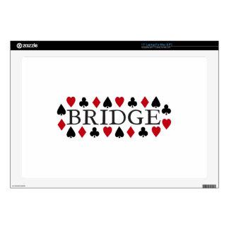 Diseño del puente portátil 43,2cm skins