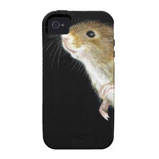 Diseño del ratón de campo Case-Mate iPhone 4 fundas