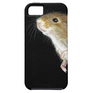 Diseño del ratón de campo funda para iPhone 5 tough