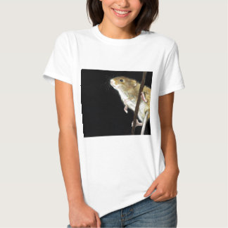 Diseño del ratón de campo t shirts