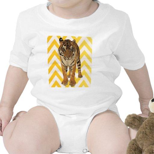 Diseño del regalo del arte del tigre camisetas