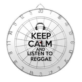 Diseño del reggae tabla dardos