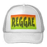Diseño del reggae gorras de camionero