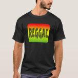 Diseño del reggae playera