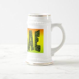 Diseño del reggae taza de café