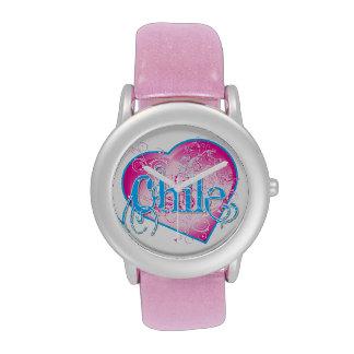 Diseño del reloj de CHILE