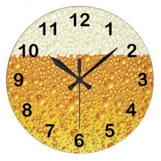 Diseño del reloj de pared de la cerveza