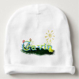 diseño del remiendo de la hierba de Blox3dnyc.com. Gorrito Para Bebe