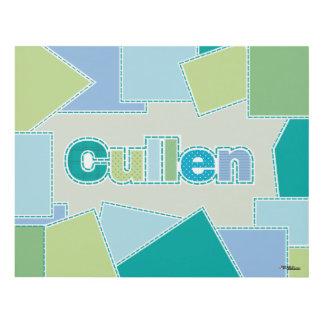 Diseño del remiendo del calicó de Cullen Cuadro