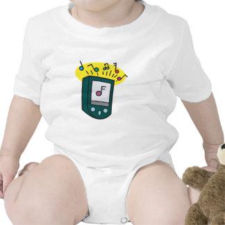 diseño del reproductor Mp3 Camiseta