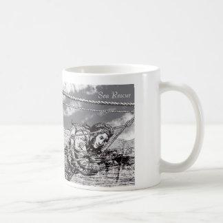 Diseño del rescate del mar para la taza