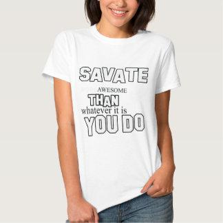 diseño del savate camisas