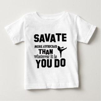 diseño del savate playeras