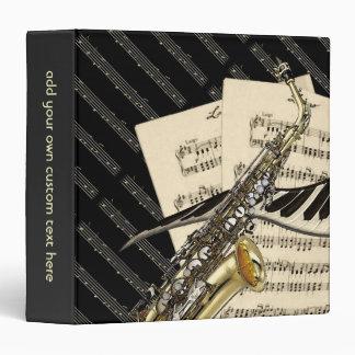 Diseño del saxofón y de la música del piano person
