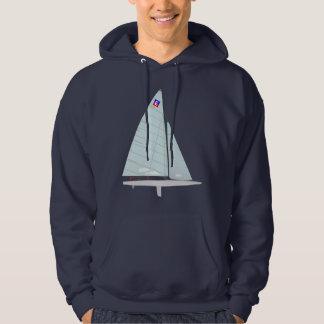 Diseño del Scow uno de E que compite con el velero Sudadera