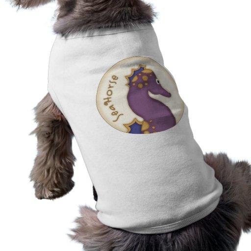 Diseño del Seahorse de los niños Camisetas De Mascota