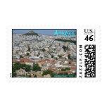 Diseño del sello de Atenas Grecia